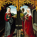Part 2 - Jacob Cornelisz van Oostsanen (c.1470-1533) - Triptych of Saint Augustine