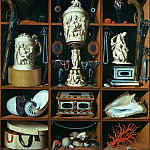 Part 2 - Georg Hainz (1630-1700) - Cupboard with Collectibles