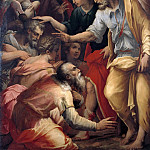 The Apostles Peter and John Blessing, Giorgio Vasari