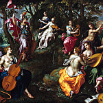 Part 2 - Hendrik de Clerck (c.1560-1630) - Minerva with the Muses