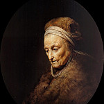 Part 2 - Gerrit Dou (1613-1675) - Portrait of the Mother of Rembrandt