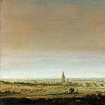 Part 2 - Hercules Seghers (ок1590-1638) - Flat landscape with a town by the river