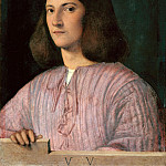 Giorgione – Portrait of a young man, Part 2