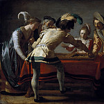 Gerrit van Honthorst – The backgammon, Part 2