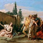 Giovanni Battista Tiepolo – Rinaldo farewell to Armida, Part 2