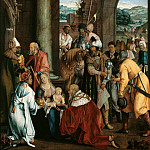 Hans Suess von Kulmbach – The Adoration of the Kings, Part 2