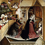 Hans Multscher – Wurzach Altarpiece – Nativity, Part 2