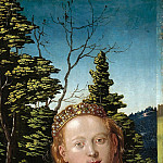 Hans Baldung – Three Kings Altarpiece – Saint Catherine, Part 2
