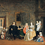The mayor of Dr. Gillis Valckenier family, Gabriel Metsu