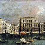 Francesco Albotto – View of the Grand Canal with views of the Ca Pesaro, Part 2