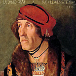 Hans Baldung – Portrait of Ludwig, Count von Leuwenstein, Part 2