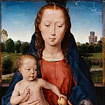 Maria with the child, Hans Memling