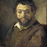 Part 2 - Rembrandt (attr) - Bust of a young Jew