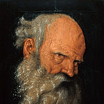 Hans Baldung – Head of an old man, Part 2