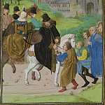 C122R The delivery of Santiago de Compostela to the Duke of Lancaster and his wife in 1386, R K Post