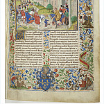 A001R Arrival of Isabella of France, Queen of England, to Paris and meeting with her brother Charles IV, King of France, Charles-Ernest De Belle
