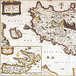 Antique world maps HQ - Ischia, 1871