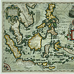 Map of the East Indies, Antique world maps HQ
