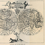 Cornelis van Wytfliet – Map of the World, 1598, Antique world maps HQ