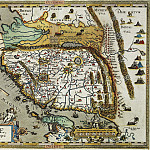 Abraham Ortelius – China, 1584, Antique world maps HQ
