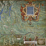 Raffaello Sanzio da Urbino) Raphael (Raffaello Santi - Map of the Duchy of Milan