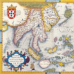 Abraham Ortelius - East Indies, 1570, Antique world maps HQ