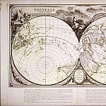Nicolas-Antoine Boulanger - Nouvelle mappemonde, 1753, Antique world maps HQ