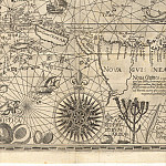 Jan van Linschoten – Spice Islands, 1598, Antique world maps HQ
