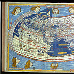 Antique world maps HQ - World map attributed to Ptolemy