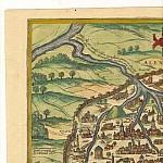 Antique world maps HQ - Georg Braun and Frans Hogenberg - Alexandria, 1575