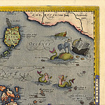 Antique world maps HQ - Abraham Ortelius - East Indies, 1570