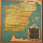 Map of the Iberian peninsula, Antique world maps HQ