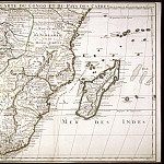 Antique world maps HQ - Guillaume Delisle - South Africa and Madagascar, 1708