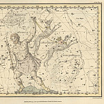Antique world maps HQ - Bootes and Mons Maenalus, Canes Venatici, Coma Berenices, Quadrans Muralis