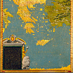 Antique world maps HQ - Map of Greece