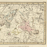 Antique world maps HQ - Andromeda, Perseus and Caput Medusae, Triangula, Gloria Frederici