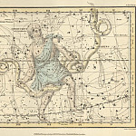 Antique world maps HQ - Ophiuchus, Serpens