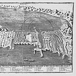 View of Ceuta, 1605, Antique world maps HQ