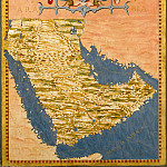 Map of the Arabian peninsula, Antique world maps HQ