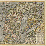 Olaus Magnus – Carta Marina, 1539, Antique world maps HQ