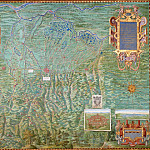 Pinturicchio (Bernardino di Betto) - Map of the Territory of Bologna