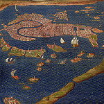 View of Venice, Antique world maps HQ