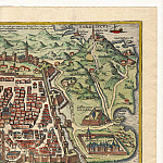 Antique world maps HQ - Georg Braun and Frans Hogenberg - Algiers, 1574