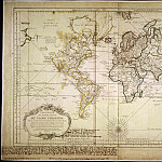 Map of the World, 1775, Antique world maps HQ