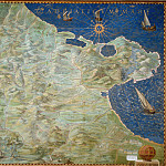 Apulia, Antique world maps HQ