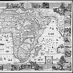 Nicolas de Fer – Old map of Africa , 1698, Antique world maps HQ