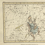 Antique world maps HQ - Auriga, Camelopardalis, Telescopium Herschelii