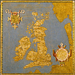 Map of Great Britain and Ireland, Antique world maps HQ