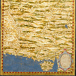 Map of the area between the Caspian Sea and the Arabian Sea, Antique world maps HQ