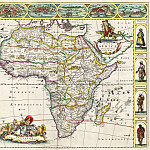 Frederik de Wit - Map of Africa, 1660-70, Antique world maps HQ